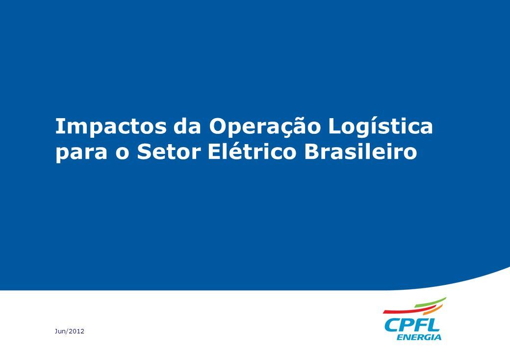 Impactos da Operação Logística para o Setor Elétrico Brasileiro Jun/2012