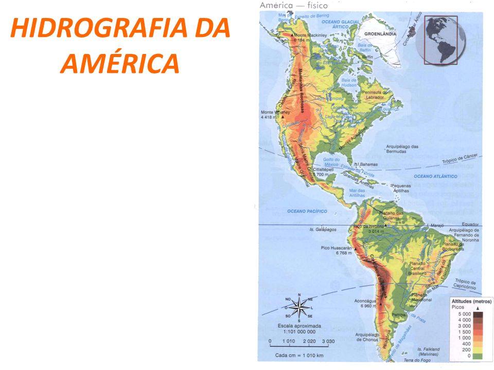 HIDROGRAFIA DA AMÉRICA