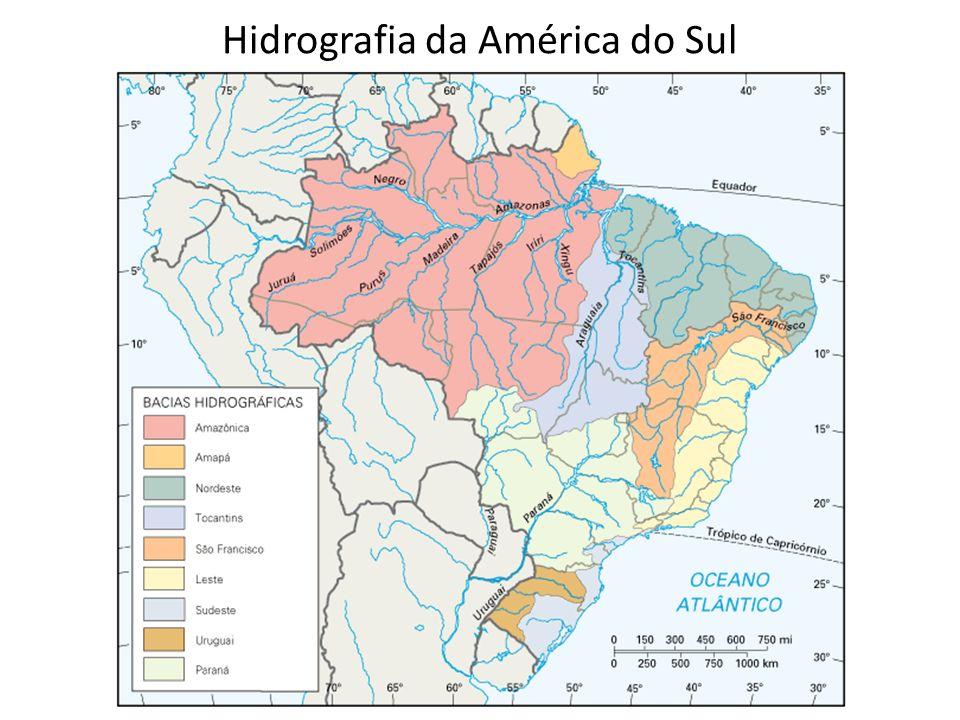 Hidrografia da América do Sul