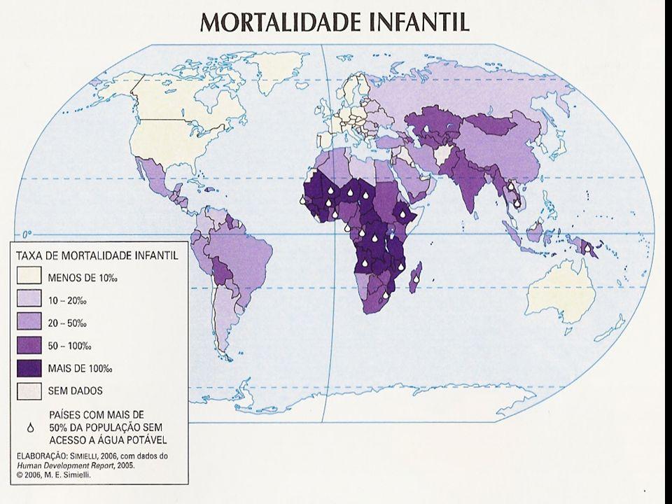 O continente africano possui 71% dos casos de AIDS mundial.