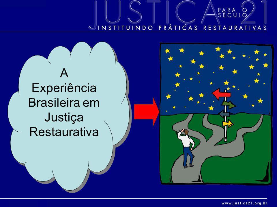 A Experiência Brasileira em Justiça Restaurativa