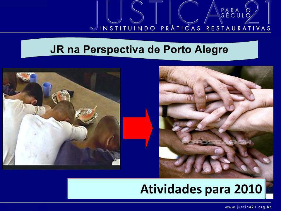 JR na Perspectiva de Porto Alegre Atividades para 2010