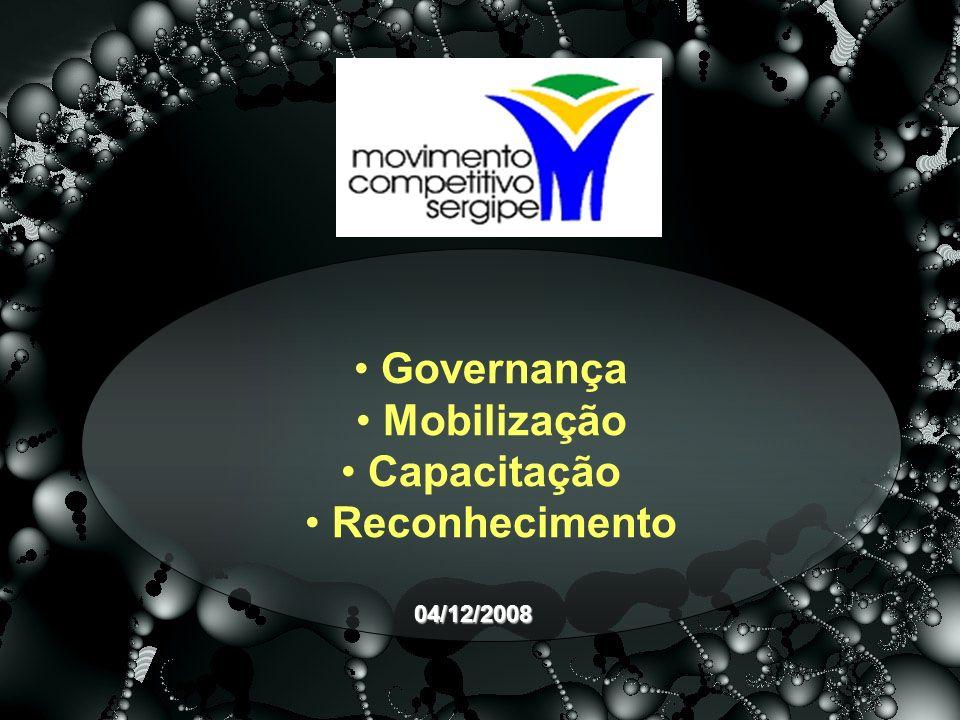 Governança Mobilização Capacitação Reconhecimento 04/12/2008