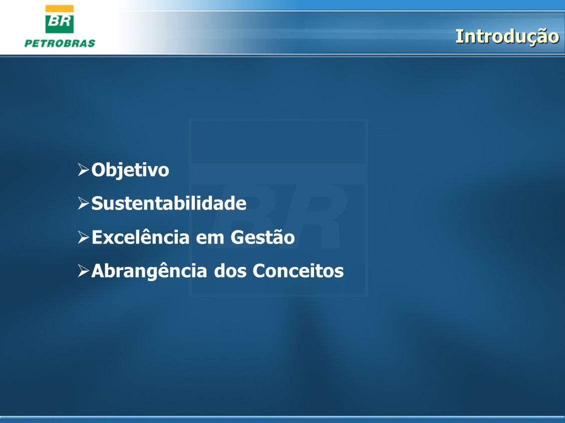 Introdução Objetivo Sustentabilidade Excelência em Gestão Abrangência dos Conceitos