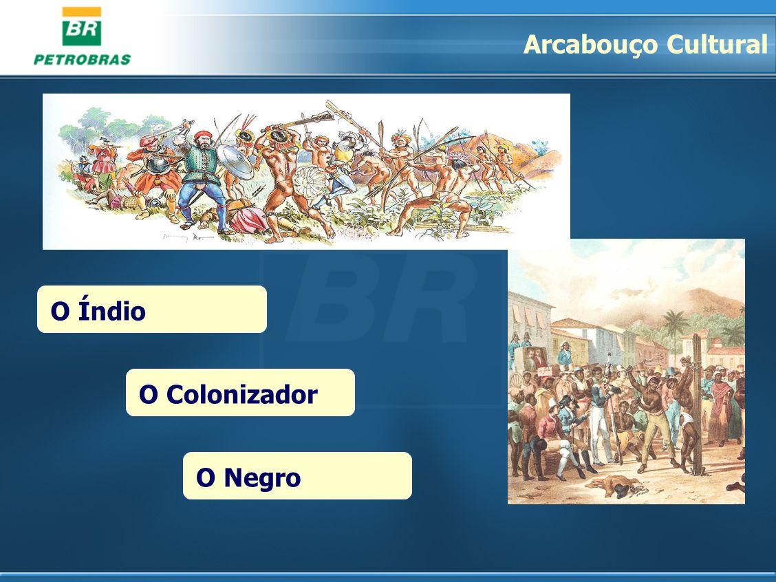 O ColonizadorO NegroO Índio Arcabouço Cultural
