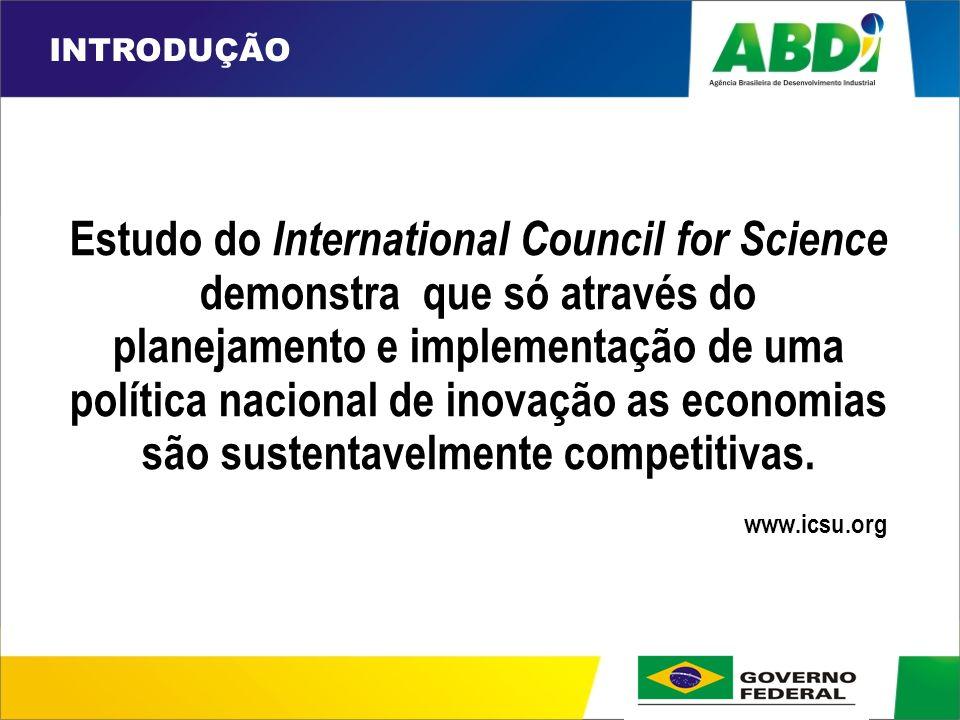 PLANO DE DESENVOLVIMENTO INDUSTRIAL, TECNOLÓGICO E DE COMÉRCIO EXTERIOR HORIZONTE 2008 Perfil das empresas Inovação na Indústria Brasileira (IPEA, 2005)
