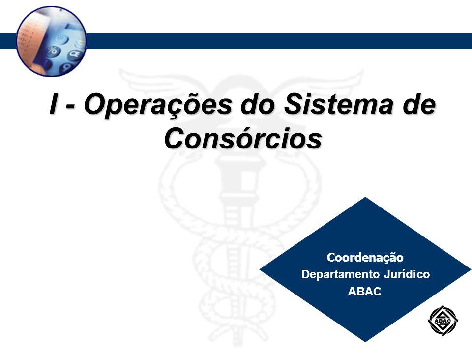 Procedimentos Contábeis Aplicáveis a Grupos de Consórcios DIVERSAS CONTAS DE COMPENSAÇÃO PASSIVAS CÓDIGO: 9..0.7.99.00-8 CLASSIFICAÇÃO: PASSIVO DE COMPENSAÇÃO – CONSÓRCIO FUNÇÃO Registrar os demais atos e fatos administrativos relacionados com o grupo de consórcio que, por critério da administradora ou por exigência do Banco Central do Brasil, sujeitam-se a procedimentos de controle não passíveis de registro nas demais contas de compensação.