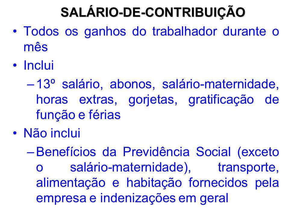 PERDA DA QUALIDADE DE SEGURADO O segurado perde a qualidade no 16º dia do segundo mês seguinte ao término dos prazos mencionados.