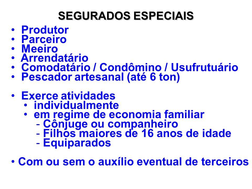 SALÁRIO-DE-CONTRIBUIÇÃO Limite Mínimo – Salário Mínimo ou Piso Salarial Limite máximo – R$ 1.561,56