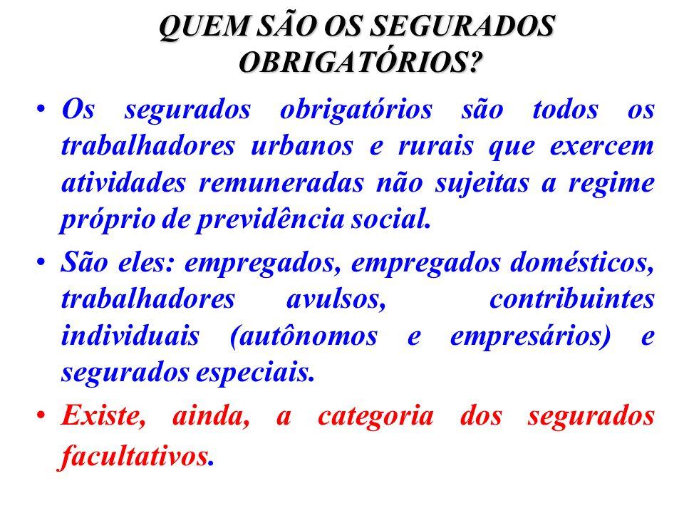 AUXÍLIO-RECLUSÃO Não é exigido o cumprimento de período de carência para concessão do auxílio- reclusão, basta comprovar a qualidade de segurado.