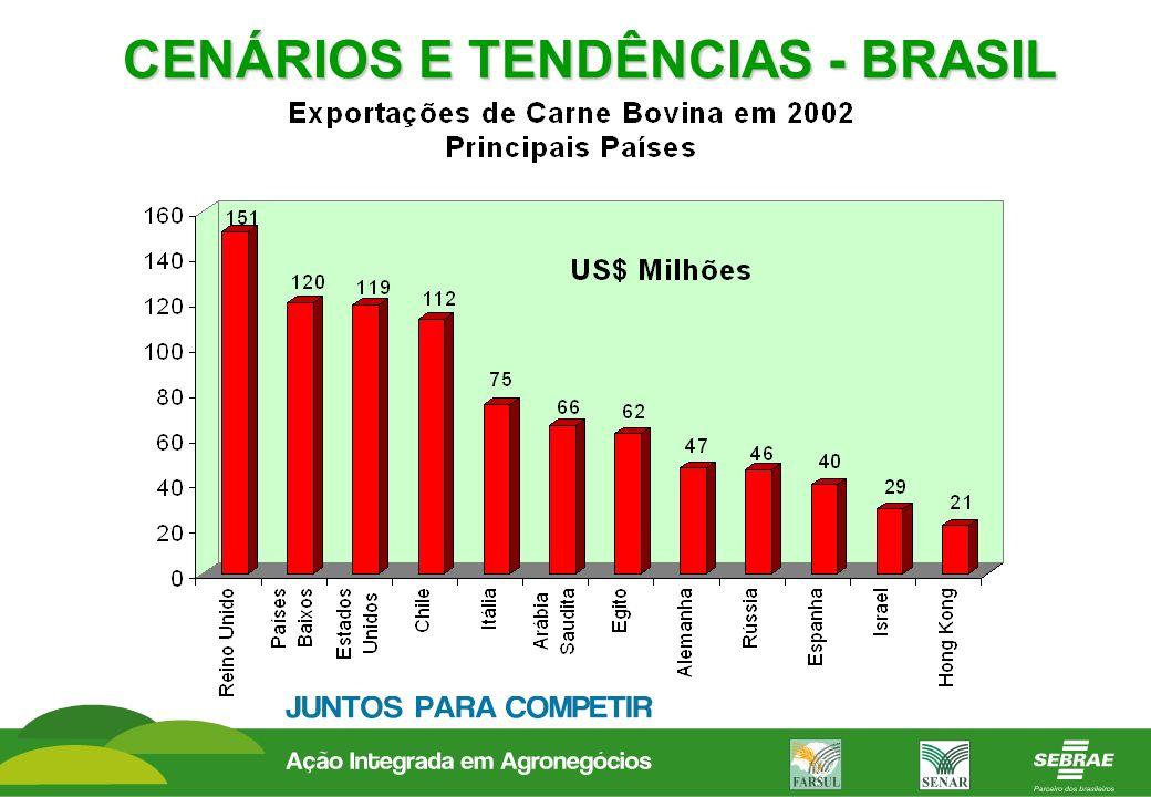 CENÁRIOS E TENDÊNCIAS - BRASIL