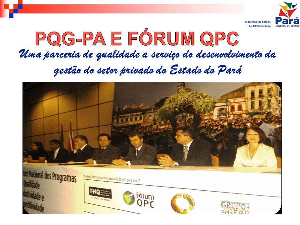 Uma parceria de qualidade a serviço do desenvolvimento da gestão do setor privado do Estado do Pará