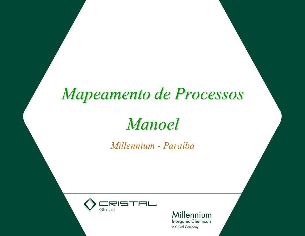 Mapeamento de Processos Manoel Millennium - Paraíba