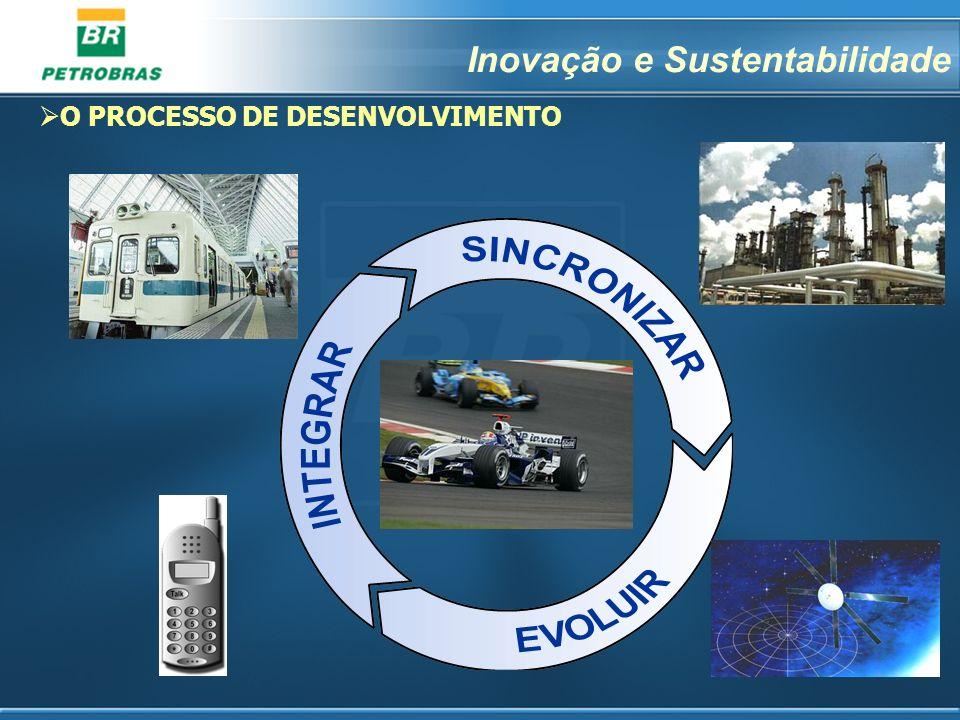 2 O PROCESSO DE DESENVOLVIMENTO Inovação e Sustentabilidade