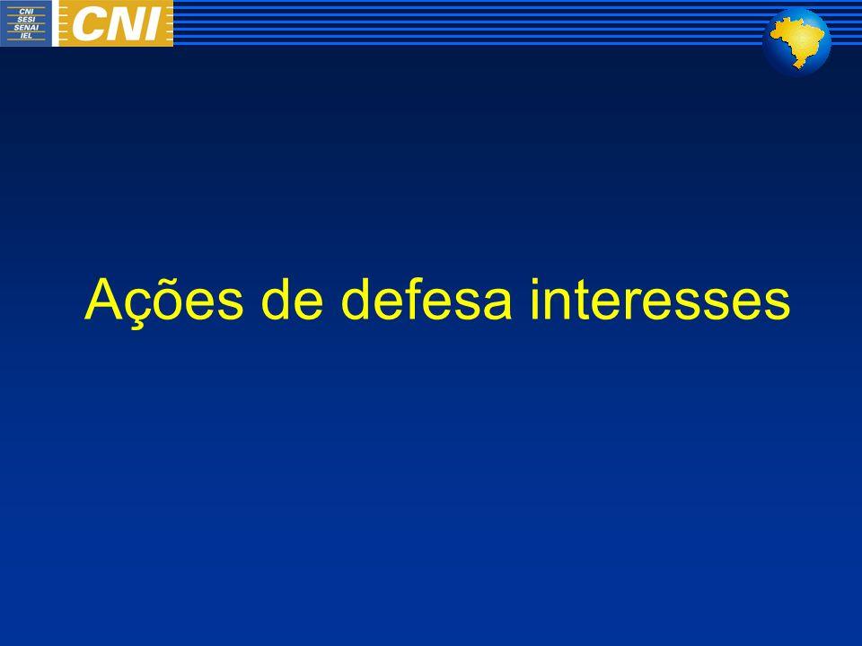 Ações de defesa interesses