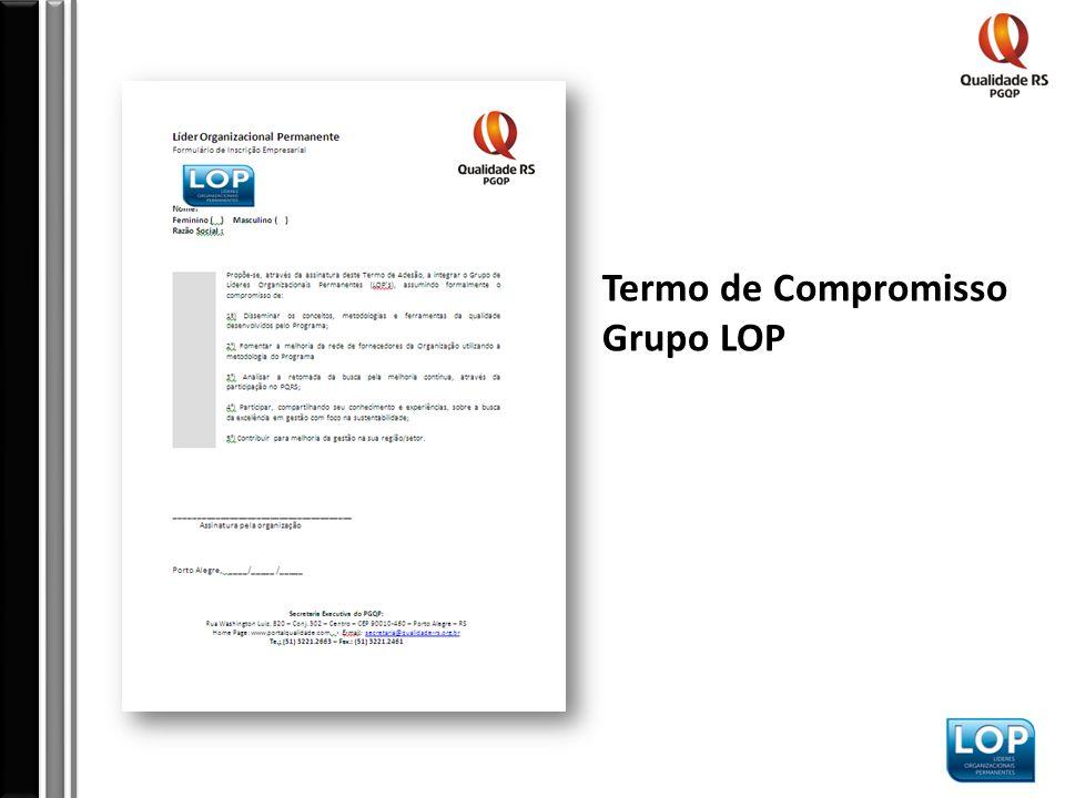 Termo de Compromisso Grupo LOP