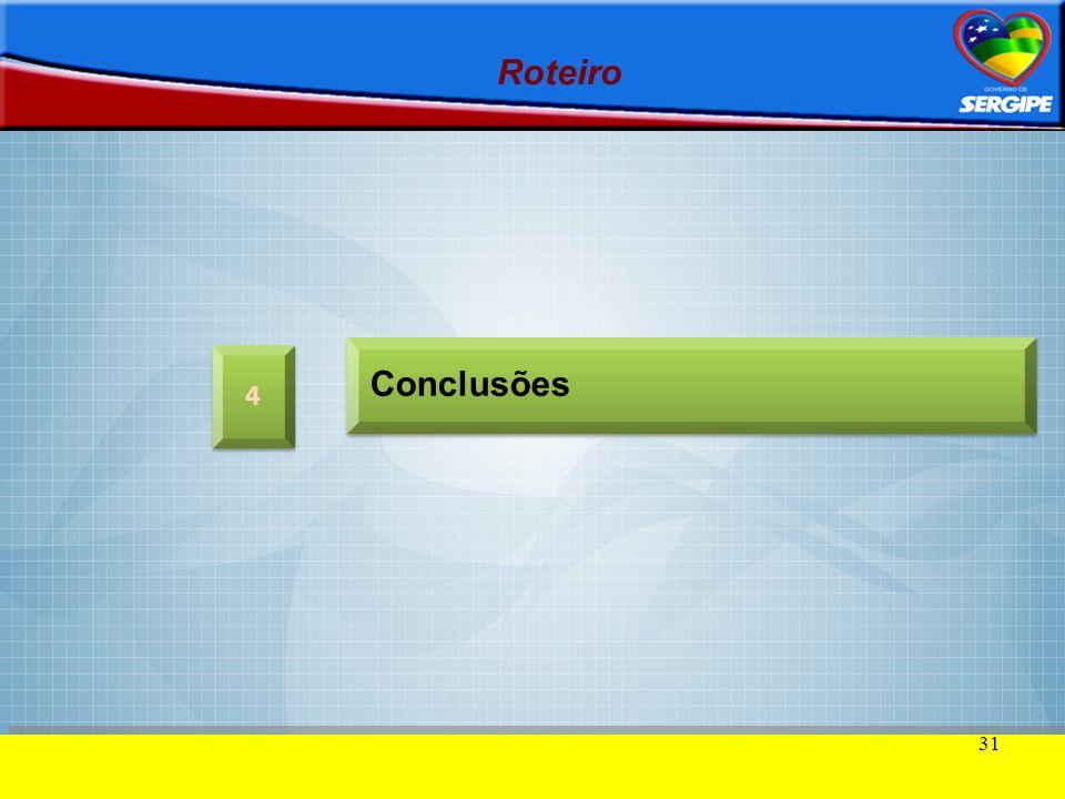 31 Roteiro 4 4 Conclusões