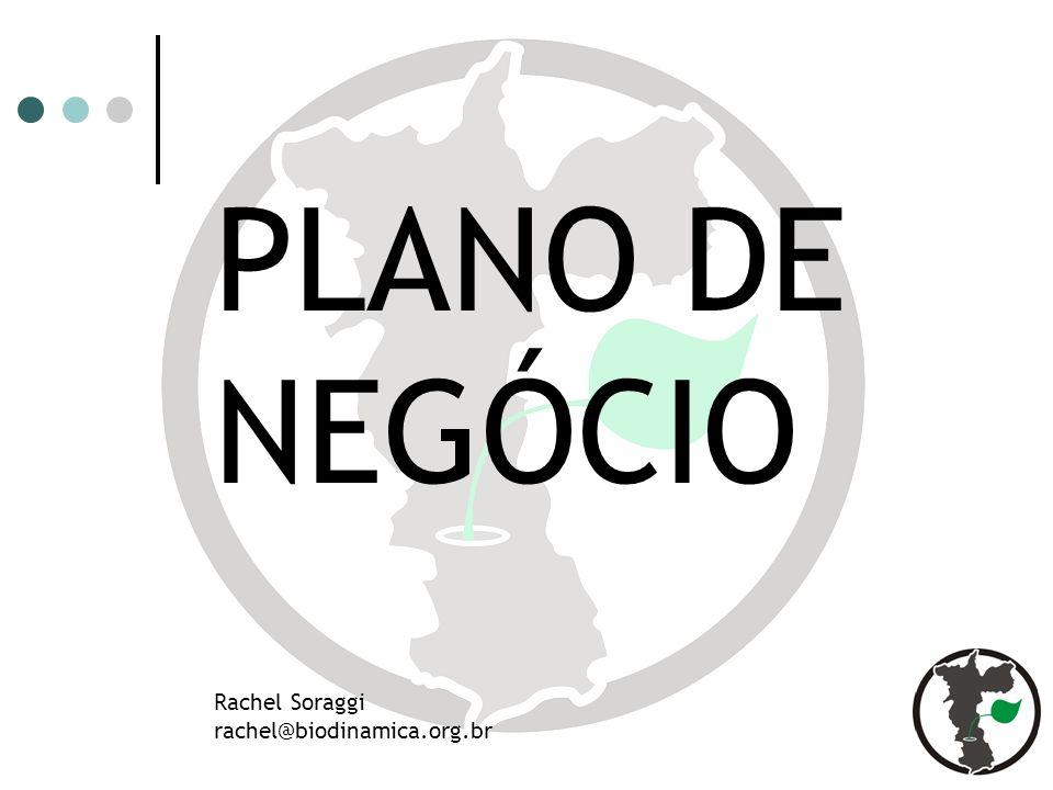 PLANO DE NEGÓCIO Rachel Soraggi rachel@biodinamica.org.br