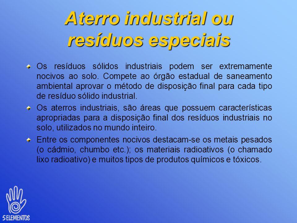 Aterros sanitários Critérios de engenharia e normas operacionais para o controle da poluição e proteção à saúde pública Camadas sucessivas de lixo com