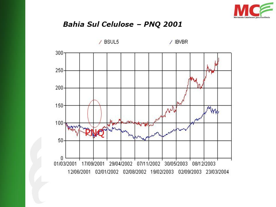 Bahia Sul Celulose – PNQ 2001 PNQ
