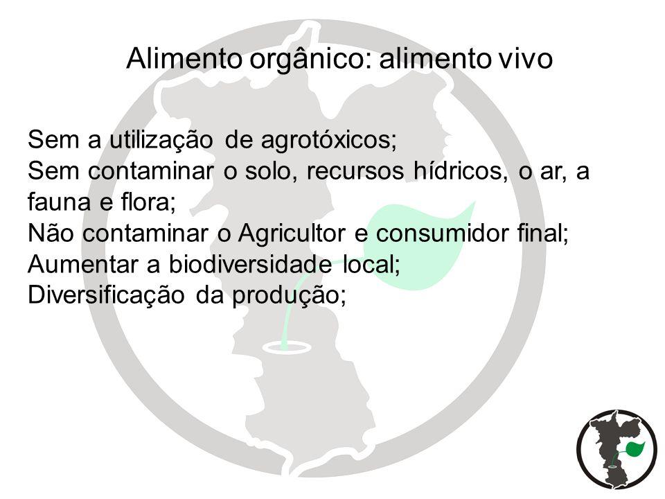 Sem a utilização de agrotóxicos; Sem contaminar o solo, recursos hídricos, o ar, a fauna e flora; Não contaminar o Agricultor e consumidor final; Aume
