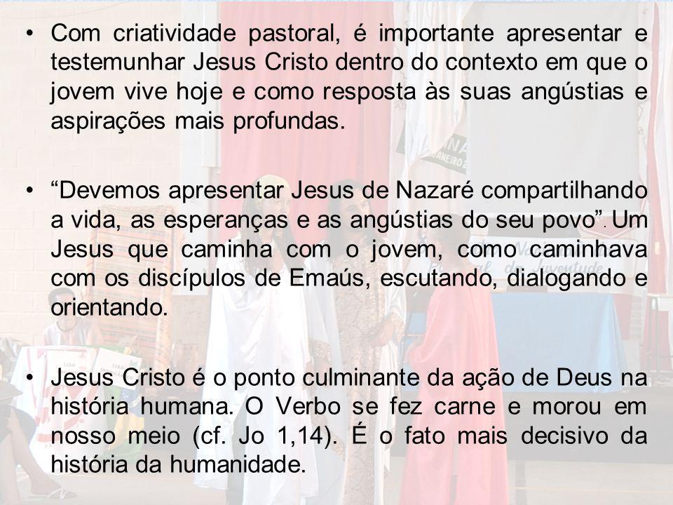 Jesus é o rosto humano de Deus e o rosto divino do homem.