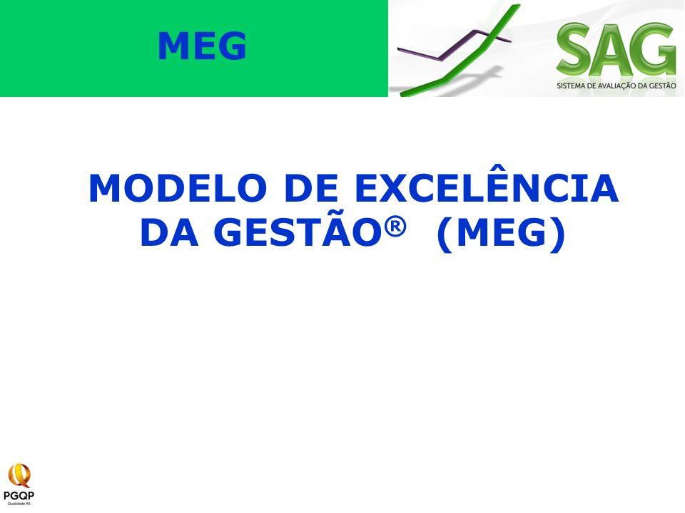 O Modelo de Excelência da Gestão® (MEG) é baseado em 11 fundamentos e oito critérios.