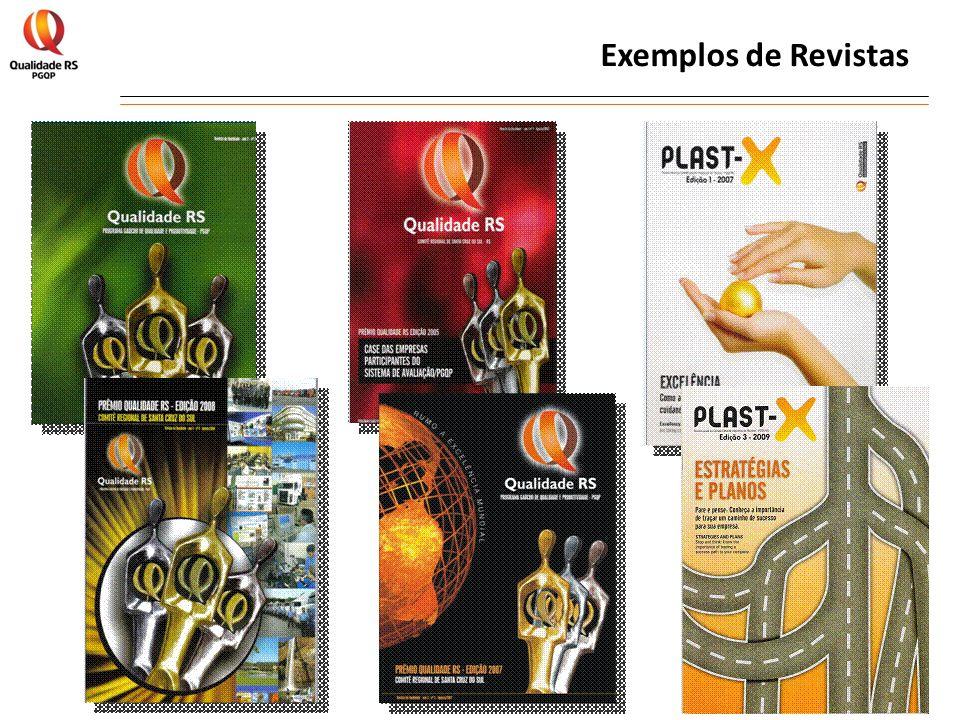 Exemplos de Revistas