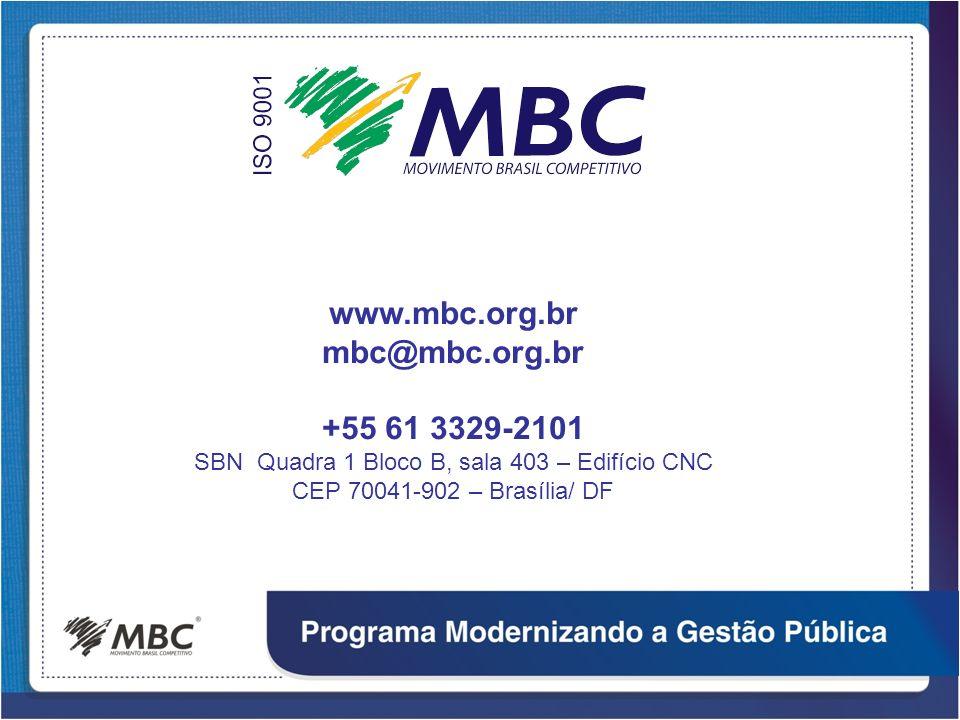 www.mbc.org.br mbc@mbc.org.br +55 61 3329-2101 SBN Quadra 1 Bloco B, sala 403 – Edifício CNC CEP 70041-902 – Brasília/ DF