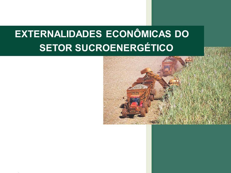 EXTERNALIDADES ECONÔMICAS DO SETOR SUCROENERGÉTICO