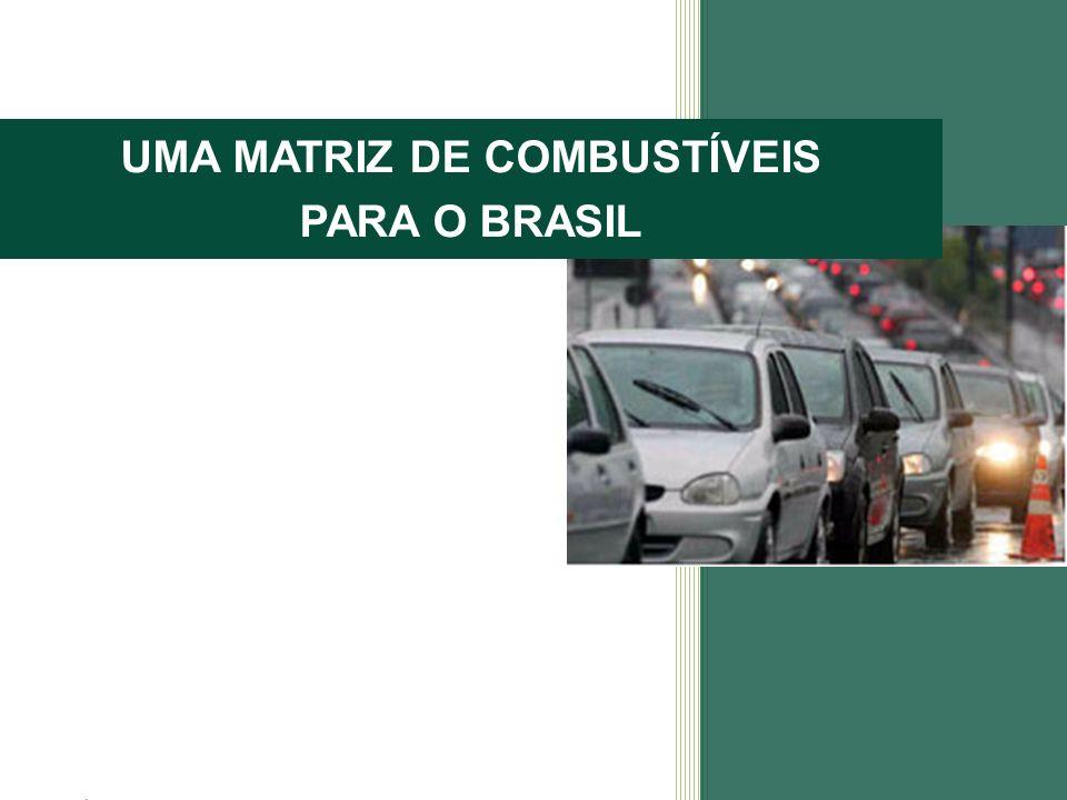 UMA MATRIZ DE COMBUSTÍVEIS PARA O BRASIL