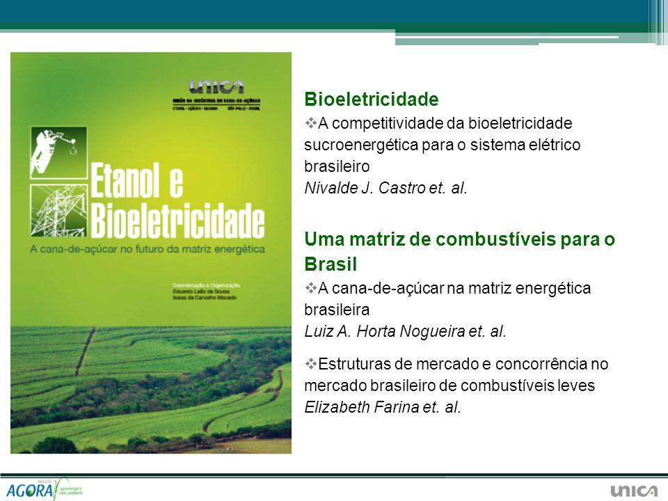 Bioeletricidade A competitividade da bioeletricidade sucroenergética para o sistema elétrico brasileiro Nivalde J. Castro et. al. Uma matriz de combus