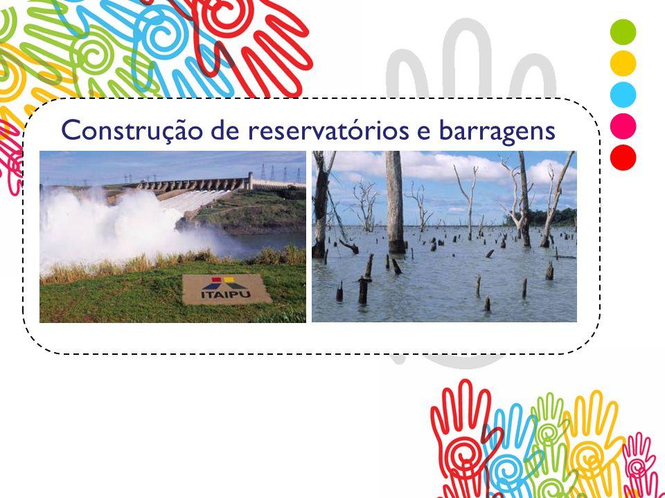 Construção de reservatórios e barragens Matriz Energética
