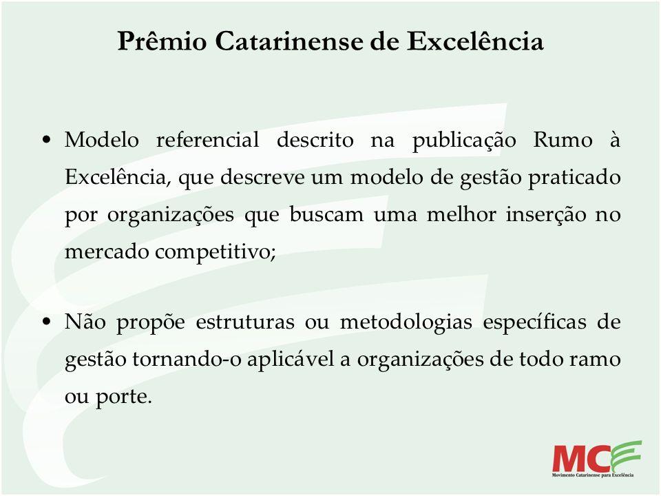 Modelo referencial descrito na publicação Rumo à Excelência, que descreve um modelo de gestão praticado por organizações que buscam uma melhor inserçã