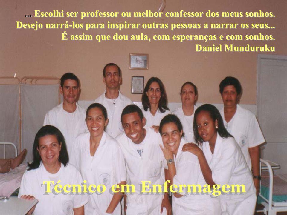 ... Escolhi ser professor ou melhor confessor dos meus sonhos. Desejo narrá-los para inspirar outras pessoas a narrar os seus... É assim que dou aula,