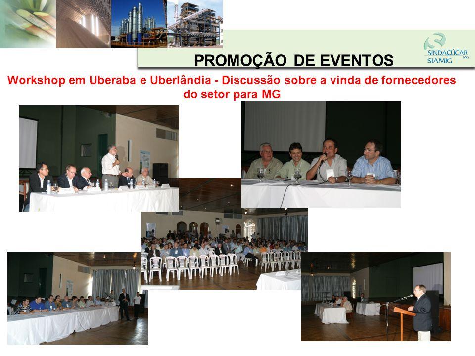 PROMOÇÃO DE EVENTOS Visita à Usina WD - Encontro com convidados do MP, órgãos do governo, prefeituras, comunidade, ongs