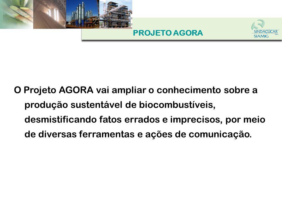 Produção e construção do stand padrão do Projeto AGORA para eventos nacionais OK.