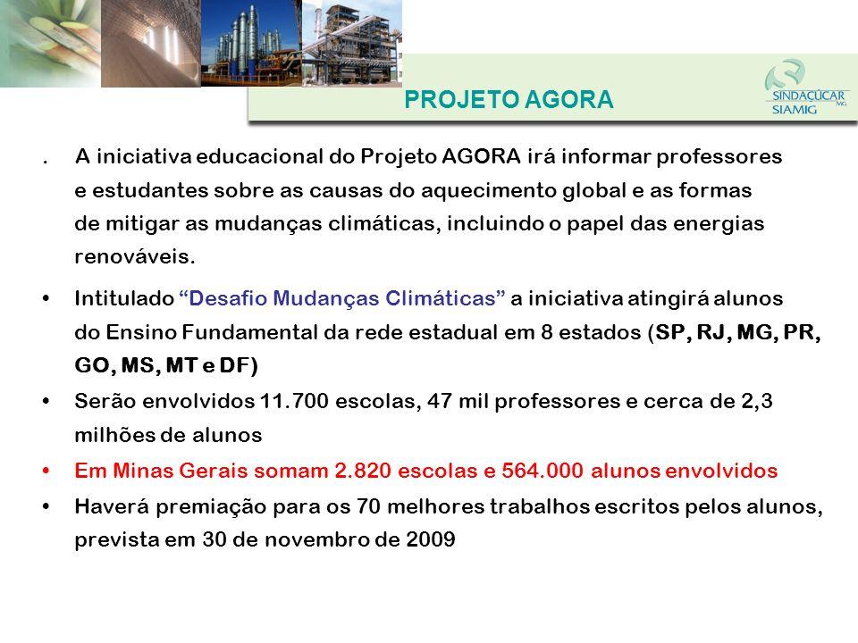 OBRIGADO SINDICATO DA INDÚSTRIA DA FABRICAÇÃO DO ÁLCOOL NO ESTADO DE MINAS GERAIS SINDICATO DA INDÚSTRIA DO AÇÚCAR NO ESTADO DE MINAS GERAIS Associação das Indústrias de Açúcar e Álcool Av.