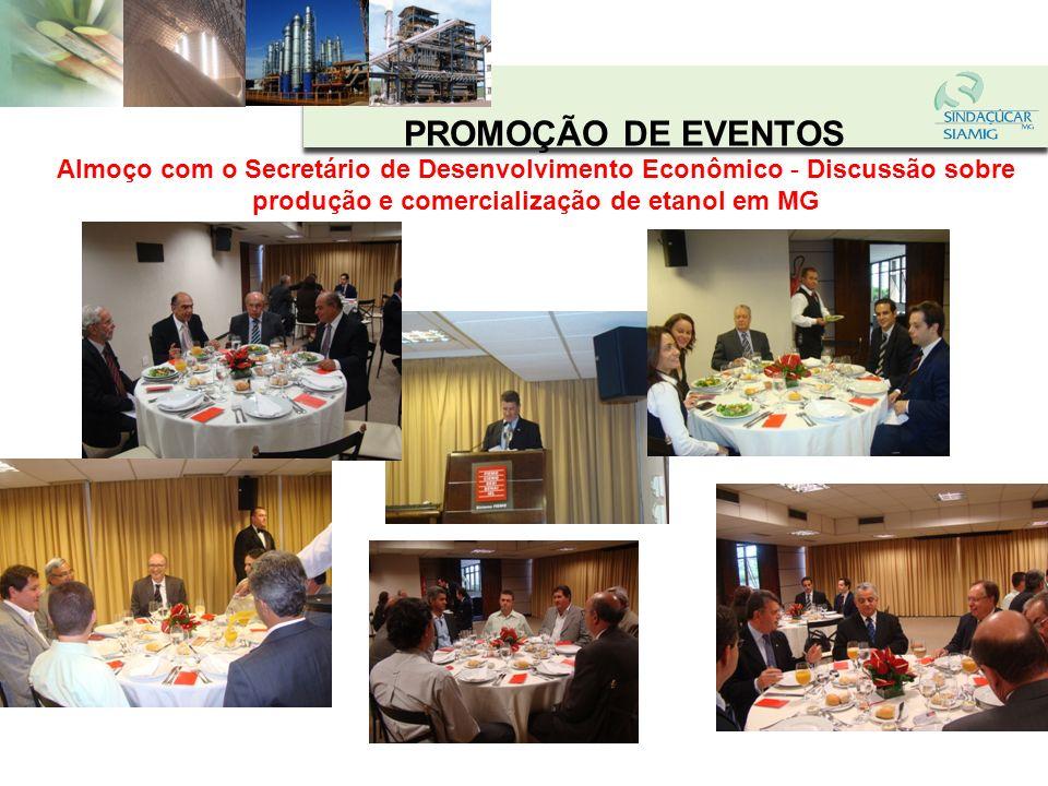 PROMOÇÃO DE EVENTOS Workshop em Uberaba e Uberlândia - Discussão sobre a vinda de fornecedores do setor para MG