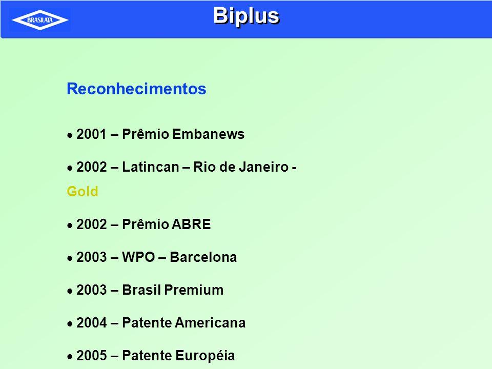 Reconhecimentos 2001 – Prêmio Embanews 2002 – Latincan – Rio de Janeiro - Gold 2002 – Prêmio ABRE 2003 – WPO – Barcelona 2003 – Brasil Premium 2004 –