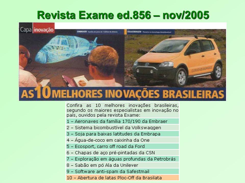 Revista Exame ed.856 – nov/2005