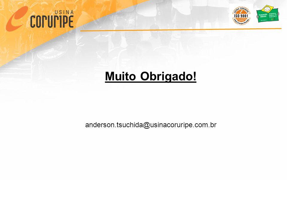 Muito Obrigado! anderson.tsuchida@usinacoruripe.com.br