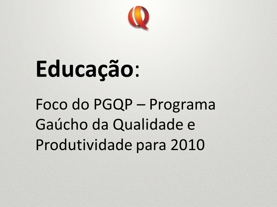 Criado em 1998 para estimular a melhoria da gestão e da qualidade do ensino, o Prêmio Nacional de Referência em Gestão Escolar destaca-se como um dos mais relevantes instrumentos de mobilização da auto-avaliação das escolas públicas brasileiras.
