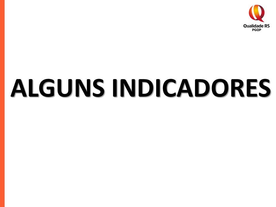 ALGUNS INDICADORES