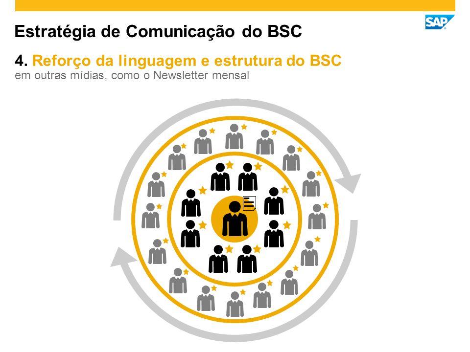 Estratégia de Comunicação do BSC 4.