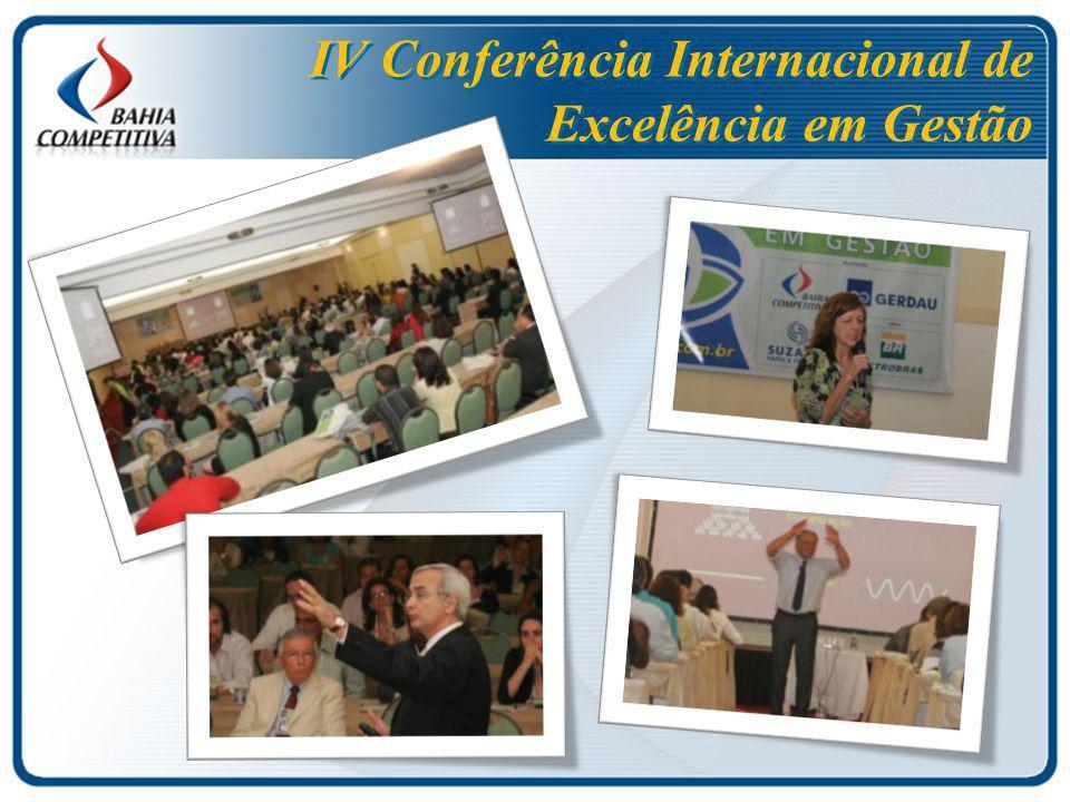 IV Conferência Internacional de Excelência em Gestão