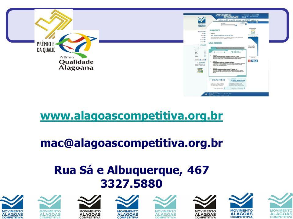 www.alagoascompetitiva.org.br www.alagoascompetitiva.org.br mac@alagoascompetitiva.org.br Rua Sá e Albuquerque, 467 3327.5880