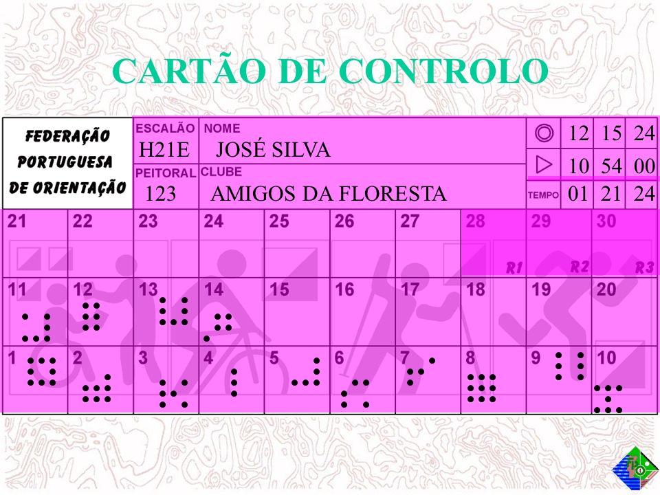 H21EJOSÉ SILVA 123AMIGOS DA FLORESTA 10 54 00 12 15 24 01 21 24 CARTÃO DE CONTROLO