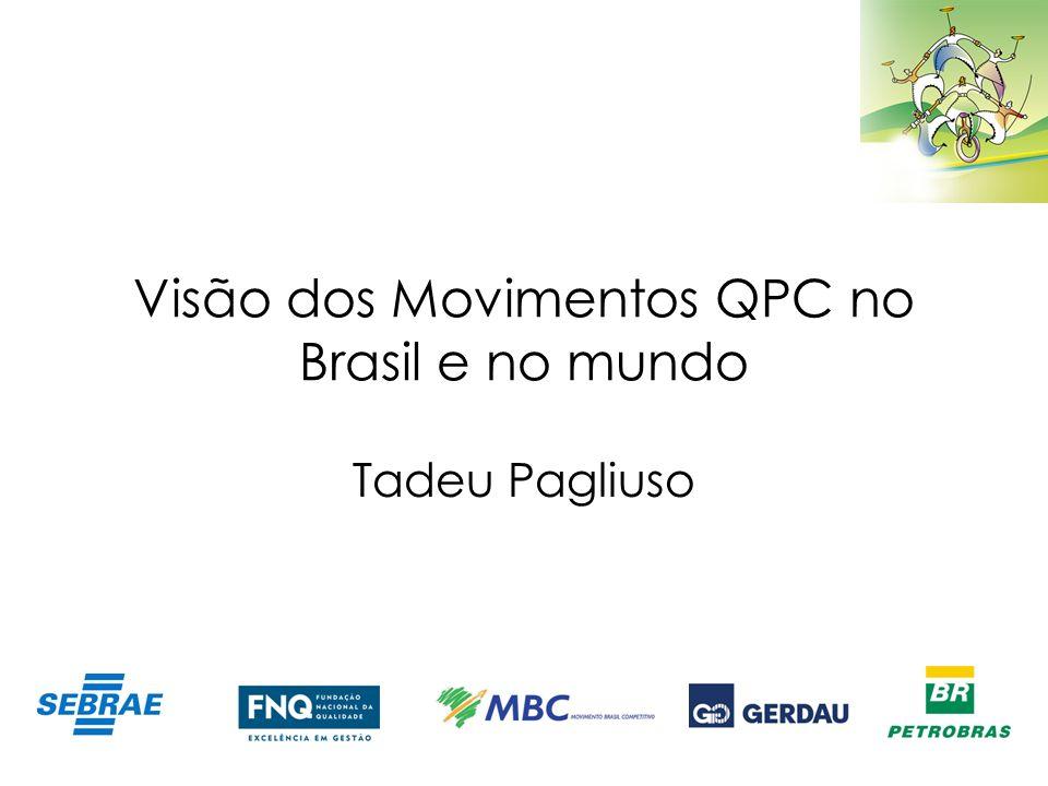 Visão dos Movimentos QPC no Brasil e no mundo Tadeu Pagliuso