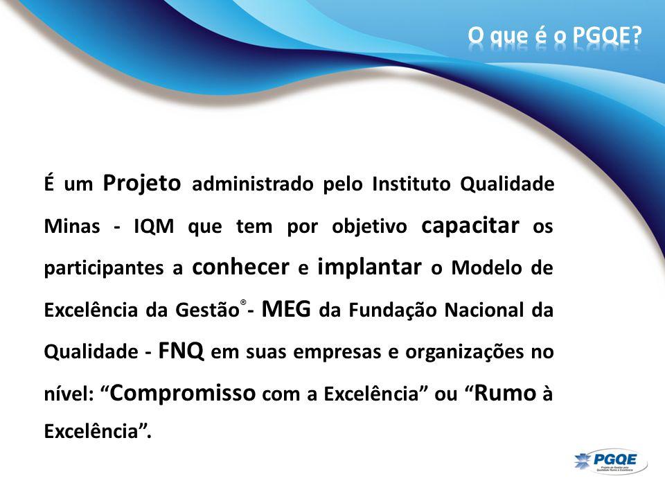 É um Projeto administrado pelo Instituto Qualidade Minas - IQM que tem por objetivo capacitar os participantes a conhecer e implantar o Modelo de Exce